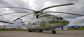 MI-26 helicopter 2 Stock Photos