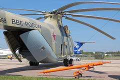Mi-26 helicopter Stock Photography