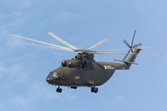 Mi-26 helicopter Stock Images
