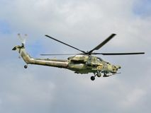 Mi-28 el cazador de la noche Fotografía de archivo libre de regalías