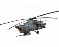 Mi-28 helicopter Stock Photo