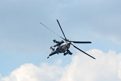 Mi-28N helicopter Stock Images