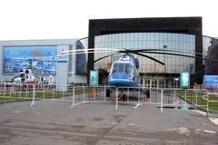 Mi-38 e Ka-32 na exposição HeliRussia 2011 Imagem de Stock