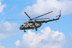 Mi-8 helicopter Royalty Free Stock Images