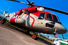 Mi-8 helicopter Stock Photography