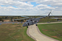 The Mi-8 helicopter Stock Photo