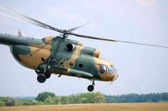 Mi-8 transport helicopter Royalty Free Stock Image