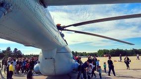 Mi-8 Royalty-vrije Stock Afbeeldingen