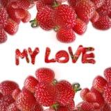 Mi amor Fotografía de archivo libre de regalías