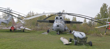 Mi-6 AYA- Airborne command post (1975). Royalty Free Stock Images