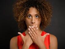 Mi boca es un sepulcro Imagen de archivo libre de regalías
