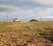 Mi casa, mi coche Fotografía de archivo libre de regalías