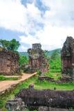 Mi complejo del templo del hijo, Vietnam Fotos de archivo