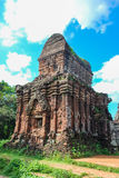 Mi complejo del templo del hijo, Vietnam imágenes de archivo libres de regalías
