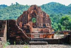 Mi complejo del templo del hijo, Vietnam fotografía de archivo libre de regalías