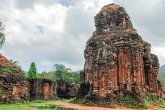 Mi complejo del templo del hijo, Vietnam Fotografía de archivo