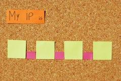 Mi concepto del Internet Protocol Foto de archivo libre de regalías