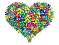 Mi corazón en el resorte Imagen de archivo libre de regalías