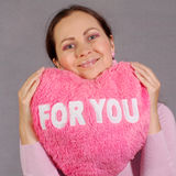 Mi corazón para usted Foto de archivo libre de regalías
