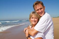 Mi couples d'âge photo libre de droits