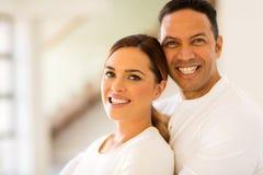 Mi couples d'âge photographie stock libre de droits