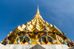 Mi día de fiesta en Wat Prakaw Foto de archivo libre de regalías