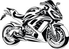 Mi diseño original de la moto Fotos de archivo