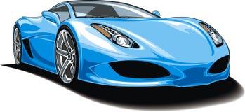 Mi diseño original del coche deportivo Foto de archivo libre de regalías