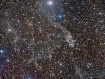 Międzygwiazdowe chmur pierzastych chmury Obraz Royalty Free