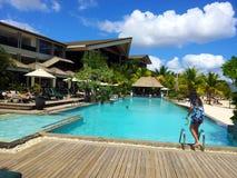 Międzykontynentalny kurort Mauritius Zdjęcia Stock