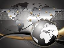 Międzynarodowa biznesowa firma Obraz Stock