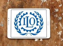 Międzynarodowa pracy organizacja, ILO logo Obrazy Royalty Free