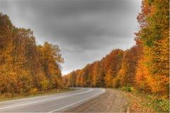 Międzynarodowa trasa w kierunku Rumunia Fotografia Royalty Free