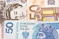 Międzynarodowa waluta Zdjęcia Royalty Free
