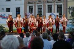 Międzynarodowy folkloru festiwal CIOFF 2016 Obraz Stock