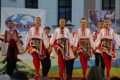 Międzynarodowy folkloru festiwal CIOFF 2016 Zdjęcia Stock