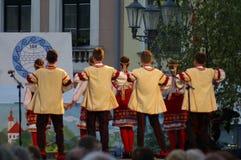 Międzynarodowy folkloru festiwal CIOFF 2016 Obrazy Royalty Free