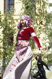 Międzynarodowy folkloru festiwal CIOFF 2016 Fotografia Royalty Free