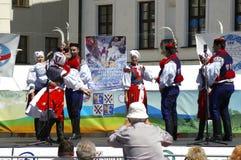 Międzynarodowy folkloru festiwal CIOFF 2016 Obraz Royalty Free