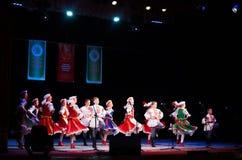 Międzynarodowy forum muzyka ludowa i folklor Zdjęcia Stock