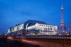 Międzynarodowy Kongresowy Centrum Berlin Fotografia Royalty Free