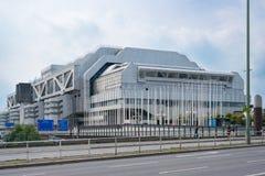 Międzynarodowy Kongresowy centrum ICC w Berlin Obrazy Stock