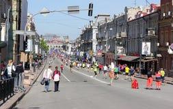 Międzynarodowy maraton Fotografia Royalty Free