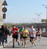Międzynarodowy maraton Obraz Royalty Free