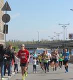 Międzynarodowy maraton Zdjęcie Stock
