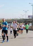 Międzynarodowy maraton Zdjęcia Stock