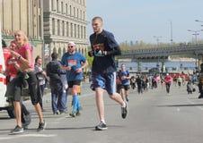 Międzynarodowy maraton Obrazy Stock