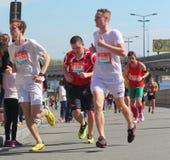 Międzynarodowy maraton Fotografia Stock