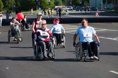 międzynarodowy maraton Riga Obrazy Royalty Free