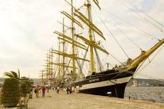 Międzynarodowy regatta, Varna Obraz Royalty Free